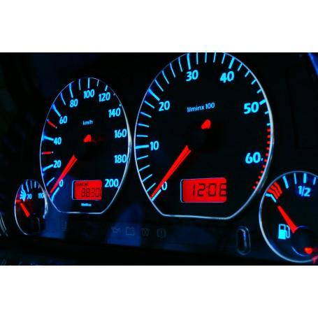 Volkswagen Vento / Jetta MK3 Wzór 3 świecące tarcze licznika INDIGLO