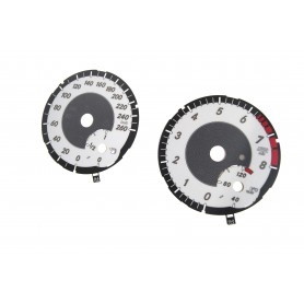 Mercedes GLA , CLA - replacement tacho dials converted from MPH to Km/h