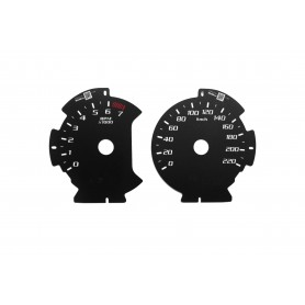 Ford F150 - replacement tacho dials from MPH to km/h