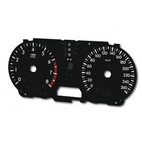 Mazda 5 - replacement dials MPH to km
