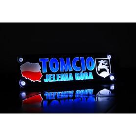 Tablica LED TIR 50x16cm KOLOROWA MoMan