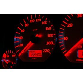 Volkswagen Vento / Jetta MK3 Wzór 4 świecące tarcze licznika INDIGLO