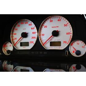 Volkswagen Golf 3 Wzór 4 - tarcze licznika INDIGLO