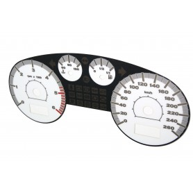 Seat Toledo 2 / Leon 1 - Replacement tacho dial (white - top sport)