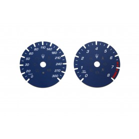 Maserati Quattroporte 6 - Replacement dial - converted from MPH to Km/h