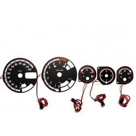 Alfa Romeo 156 WZÓR 2 tarcze licznika zegary INDIGLO