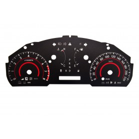 Toyota Highlander 2 - Replacement dial - converted from MPH to Km/h