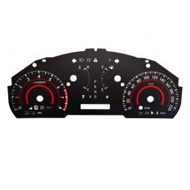 Toyota Highlander 2 - zamiennik z MPH na km