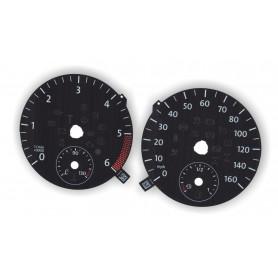 Volkswagen Amarok - zamiennik tarcz licznika z MPH na km