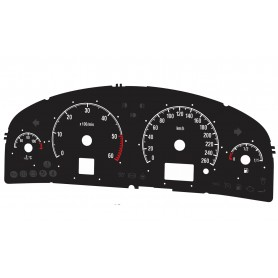 Opel Vectra C Replacement dial converted MPH to Km/h