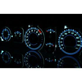Mitsubishi FTO wzór 4 tarcze licznika zegary INDIGLO