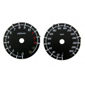 Kawasaki ZZR 1400 zamiennik tarcz licznika z MPH na km/h