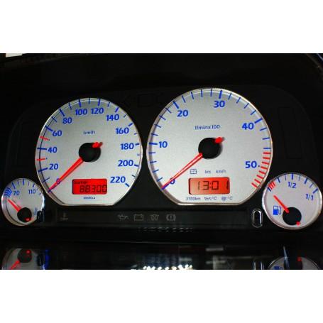 Volkswagen Golf 3 Design 5 plasma tacho glow gauges tachoscheiben dials