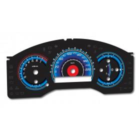 Nissan Titan & Armada wzór 2 tarcze licznika zegary INDIGLO