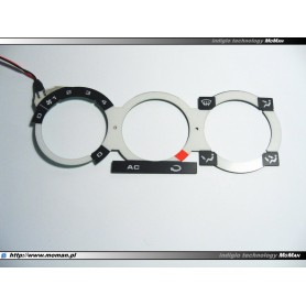 Volkswagen Polo 6N / Caddy 96-04 - Heater control panel