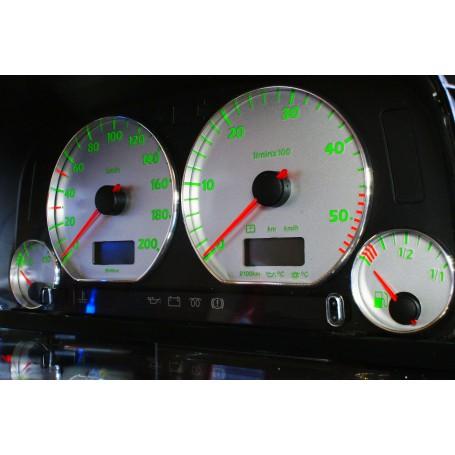 Volkswagen Golf 3 Design 6 plasma tacho glow gauges tachoscheiben dials
