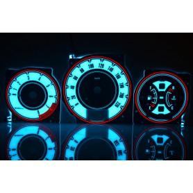 Nissan X-Trail tarcze licznika zegary Indiglo
