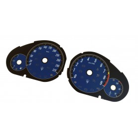 Maserati GranTurismo - Replacement tacho dials - converted from MPH to Km/h
