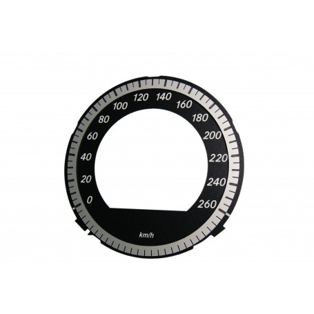 Mercedes CLS 219 - Replacement dial - converted from MPH to Km/h
