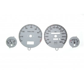 Audi 80 & 90 (B3, B4) Replacement tacho dials S2 Design