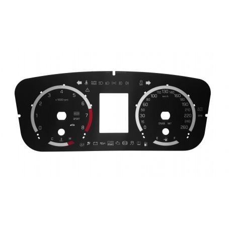 Hyundai Sonata zamiennik tarcz licznika z MPH na km/h