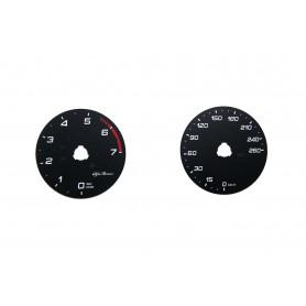 Alfa Romeo Giulia - Replacement tacho dial MPH to km/h
