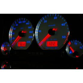 Volkswagen Polo 6n Design 5 plasma tacho glow gauges tachoscheiben dials
