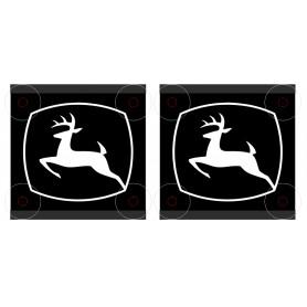 Tablice narożnikowe John Deere tabliczki 15x15cm LED MoMan