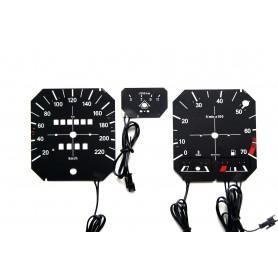 Volkswagen Golf mk1 - economizer version plasma tacho glow gauges tachoscheiben dials instrument cluster