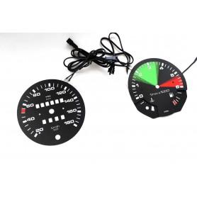 Volkswagen Transporter T3 plasma tacho glow gauges tachoscheiben dials