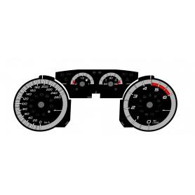 FIAT BRAVO 2 - in ALFA ROMEO GIULIETTA Style Replacement tacho dial