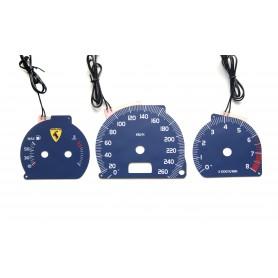 Volvo V70 plasma tacho glow gauges tachoscheiben dials