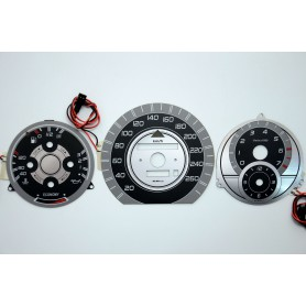 Mercedes W124 design 5 plasma tacho glow gauges tachoscheiben dials