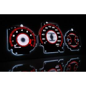 Honda CR-V I gen. 1997-2001 design 2 PLASMA TACHO GLOW GAUGES TACHOSCHEIBEN DIALS