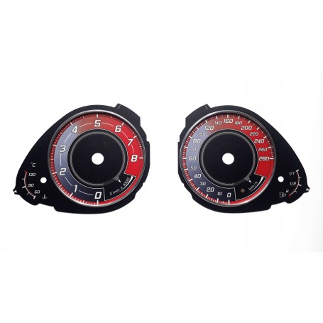 Audi A4 (B8) , Audi Q5 - Custom replacement tacho dials