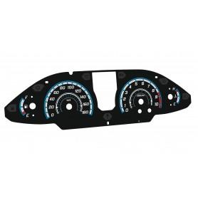 Suzuki Burgman - plasma dials INDIGLO tacho design 2