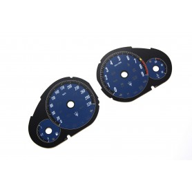 Maserati Quattroporte 2009-2012 - Replacement tacho dials - converted from MPH to Km/h
