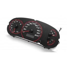 Suzuki Swift III INDIGLO tacho dials