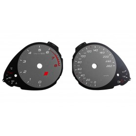 Audi S4 8K - Replacement tacho dial MPH to km/h
