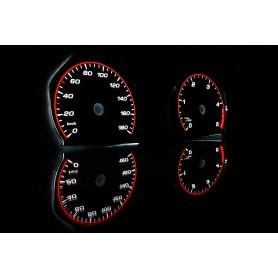 Volkswagen Crafter plasma tacho glow gauges tachoscheiben dials