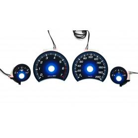 Jeep Cherokee KJ / Liberty - plasma tacho glow gauges tachoscheiben dials