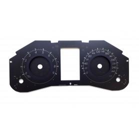 Infiniti EX35 - zamiennik tarcz licznika z MPH na km