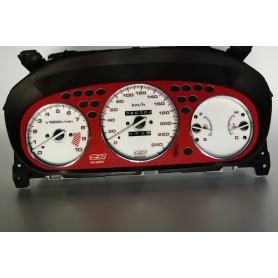 Honda Civic 1996-2000 Mugen plasma tacho glow gauges tachoscheiben dials