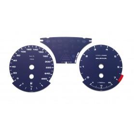 BMW E90, E92, E93 Alpina Replica - Replacement tacho dials, counter faces gauges