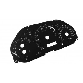 Subaru Impreza 2008-14 - replacement tacho dials MPH to km/h