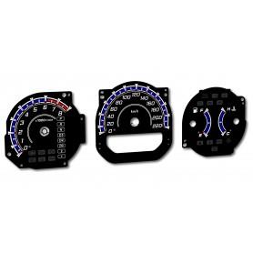 Acura MDX 1G (YD1) 00-06 plasma tacho glow gauges tachoscheiben dials