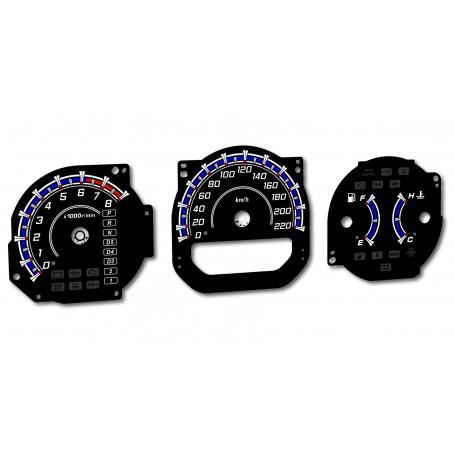 Acura MDX 1G (YD1) 00-06 INDIGLO Tacho Dials