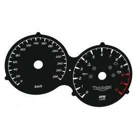 Triumph Sprint ST 1050  - zamiennik tarcz licznika