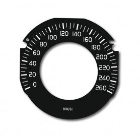 Volvo V40, S60, V60, XC60 DRIVE E - tarcze licznika zamiennik, zegary z MPH na km/h